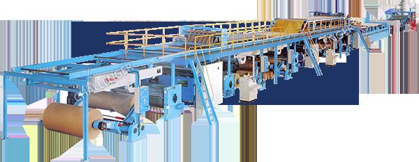 3 5 ply corrugating plant   automatic corrugated box making